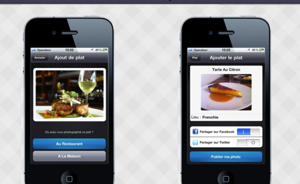 Food-Reporter-appli