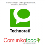 come inserire claim token in technorati