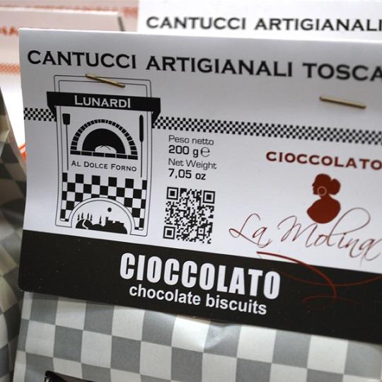 qr code cantucci cioccolato