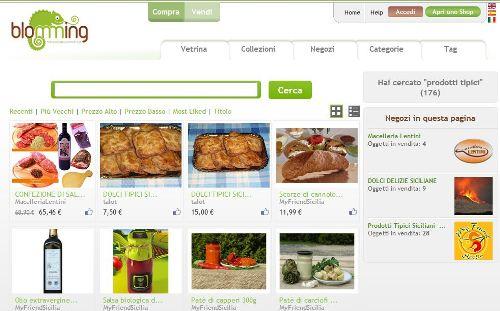 come vendere prodotti tipici online