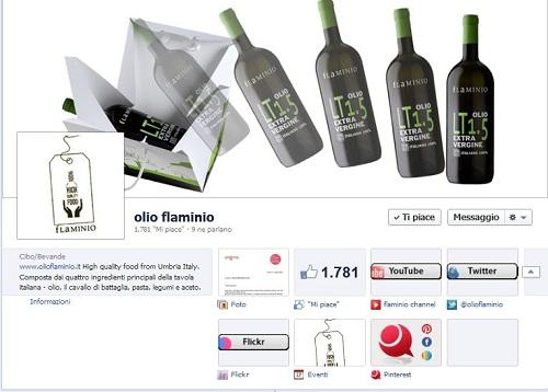 Applicazioni facebook olio