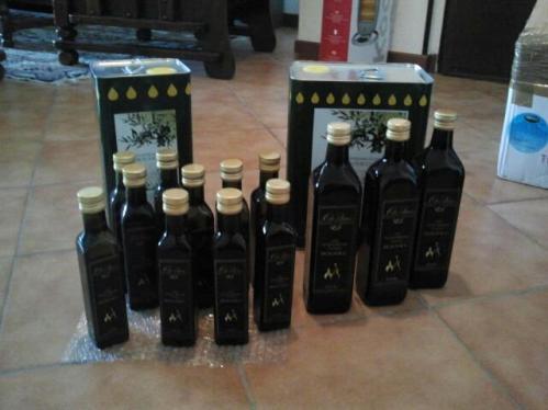 Bottiglie Olio extravergine