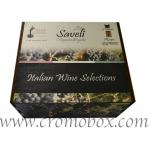 scatole in legno per bottiglie di vino