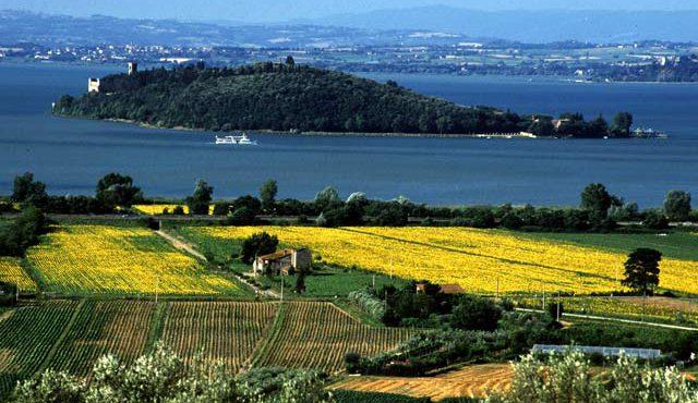 Turismo enogastronomico in Umbria. Lago Trasimeno e dintorni