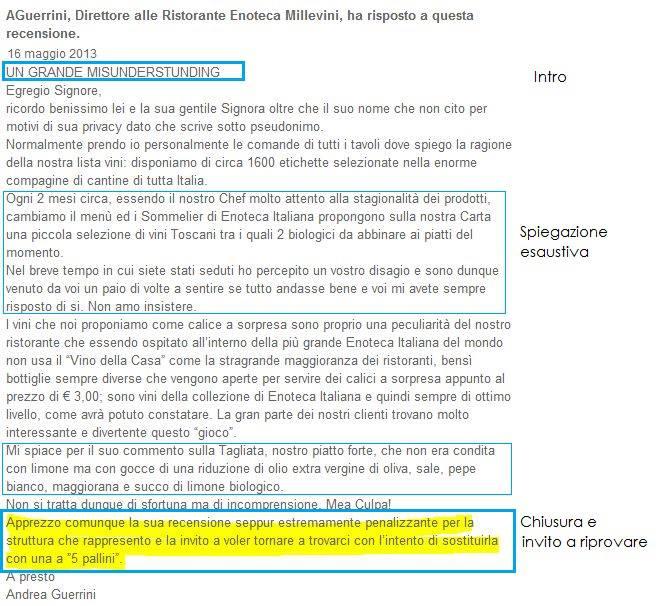 recensione-tripadvisor Recensioni TripAdvisor vs Feedback Su Facebook [Caso Ristoranti]