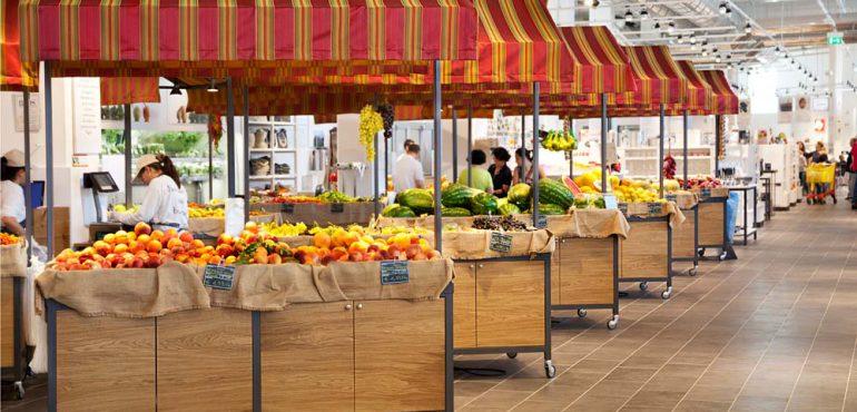 EATALY A BARI. Un supermercato del cibo esclusivo.