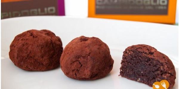 Tartufi cioccolato Amaretti di sicilia