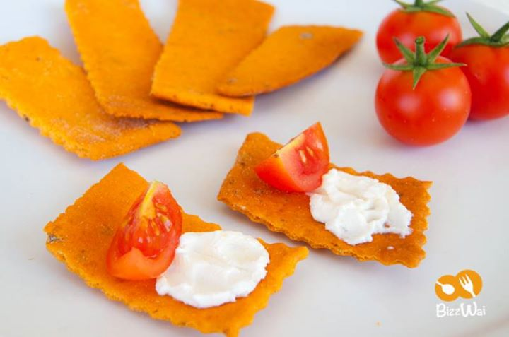 Crackers al Pomodoro Grillo - Startup Food Bizzwai