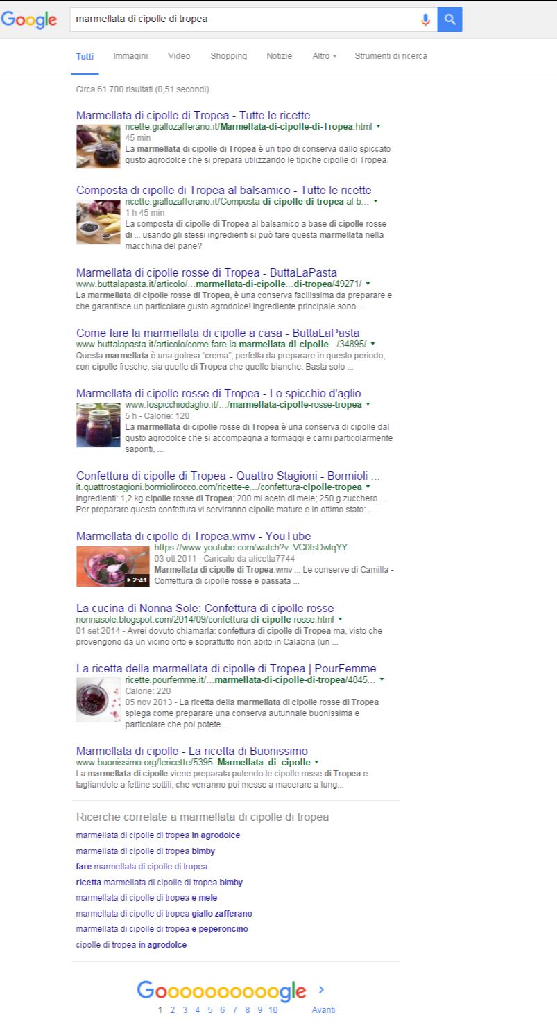 marmellata di cipolle di tropea - Cerca con Google