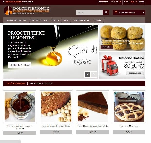e-commerce prodotti tipici piemontesi
