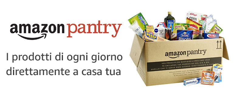 Supermercato Online con Amazon Pantry
