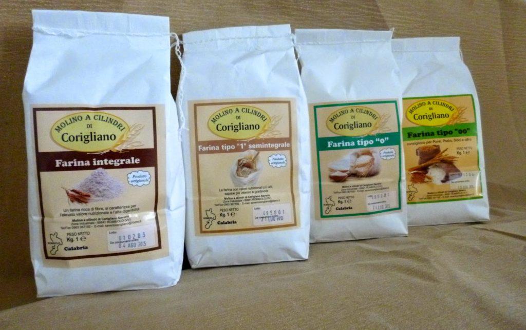 Farina di grano duro Molino Corigliano