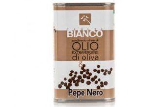 olio aromatizzato al pepe nero