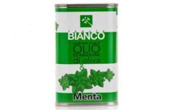 olio aromatizzato alla menta